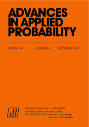 Advances in Applied Probability Volume 49 - Issue 4 -