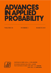 Advances in Applied Probability Volume 50 - Issue 1 -