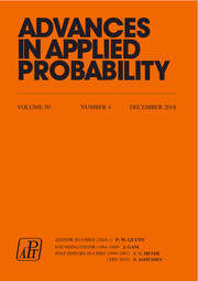 Advances in Applied Probability Volume 50 - Issue 4 -