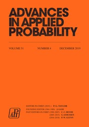 Advances in Applied Probability Volume 51 - Issue 4 -