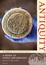 Antiquity Volume 89 - Issue 347 -