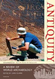 Antiquity Volume 90 - Issue 349 -