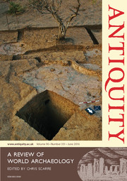 Antiquity Volume 90 - Issue 351 -