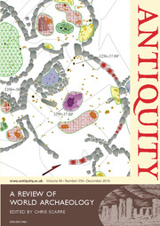 Antiquity Volume 90 - Issue 354 -