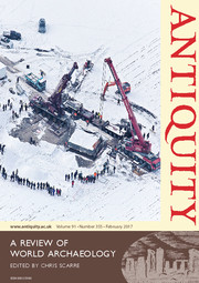 Antiquity Volume 91 - Issue 355 -