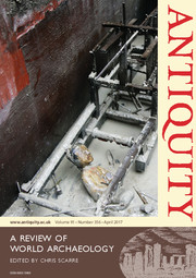 Antiquity Volume 91 - Issue 356 -