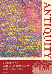 Antiquity Volume 93 - Issue 367 -