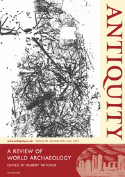 Antiquity Volume 93 - Issue 369 -
