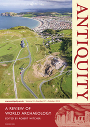Antiquity Volume 93 - Issue 371 -
