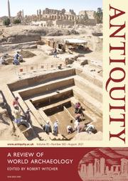 Antiquity Volume 95 - Issue 382 -