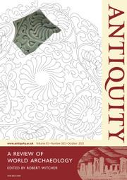 Antiquity Volume 95 - Issue 383 -