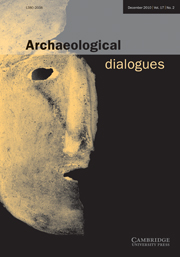 Archaeological Dialogues Volume 17 - Issue 2 -