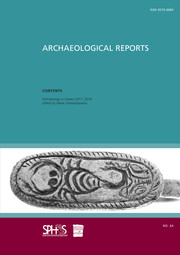 Archaeological Reports Volume 64 - Issue  -