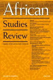 African Studies Review