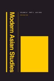 Modern Asian Studies