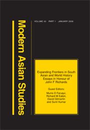 Modern Asian Studies Volume 43 - Issue 1 -