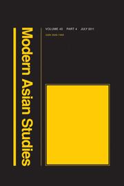 Modern Asian Studies Volume 45 - Issue 4 -