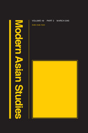 Modern Asian Studies Volume 49 - Issue 2 -