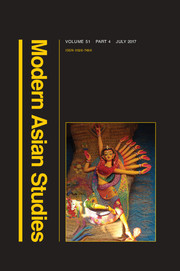 Modern Asian Studies Volume 51 - Issue 4 -