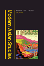 Modern Asian Studies Volume 52 - Issue 4 -