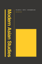Modern Asian Studies Volume 52 - Issue 6 -