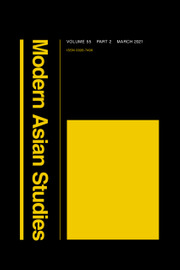Modern Asian Studies Volume 55 - Issue 2 -