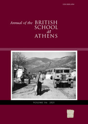 Annual of the British School at Athens