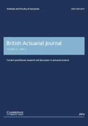 British Actuarial Journal