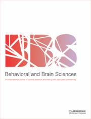 behavioral and brain sciences cambridge core