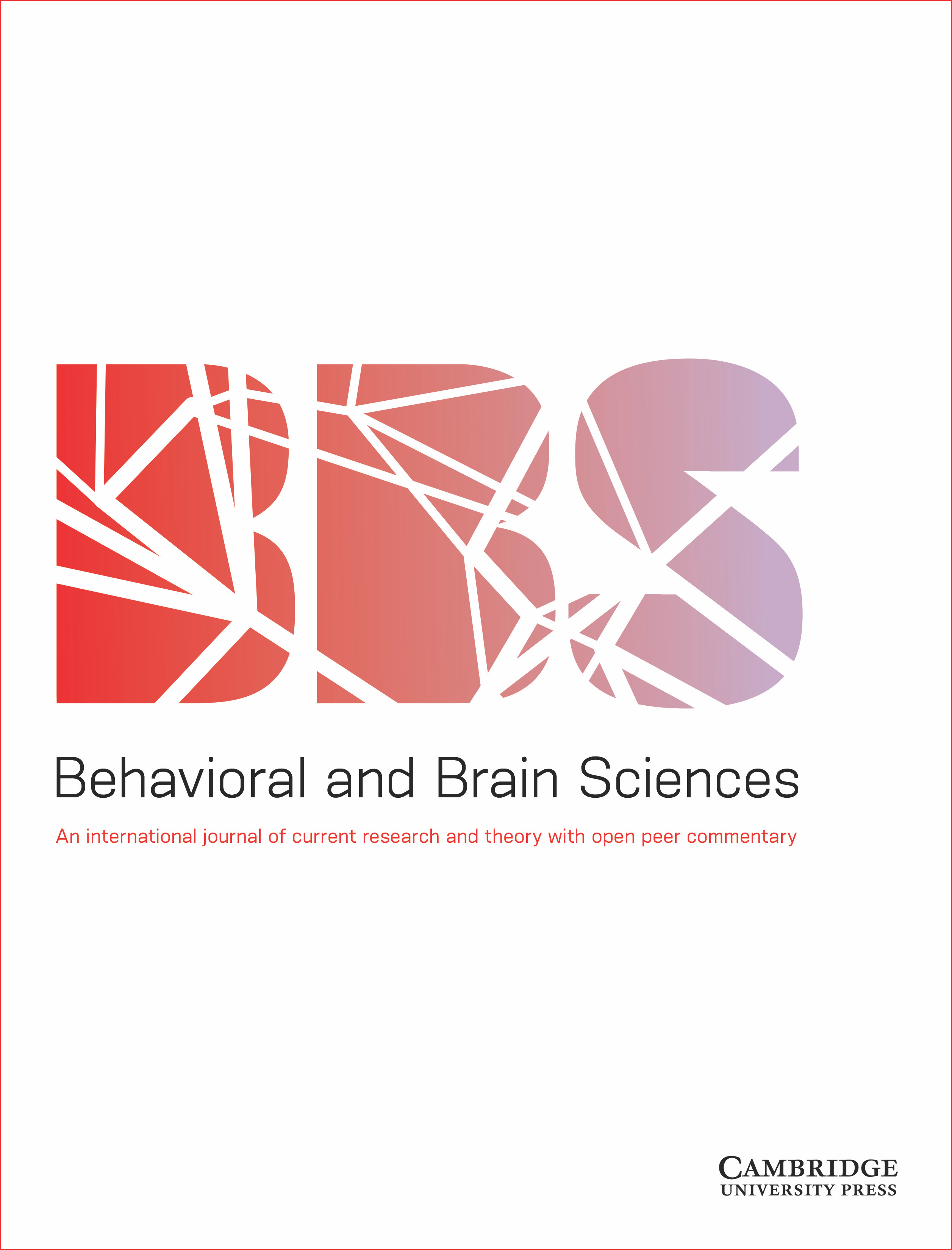 Behavioral and Brain Sciences | Cambridge Core