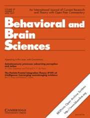 Behavioral and Brain Sciences Volume 30 - Issue 2 -