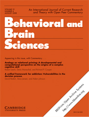 Behavioral and Brain Sciences Volume 31 - Issue 4 -