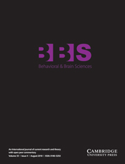 Behavioral and Brain Sciences Volume 33 - Issue 4 -