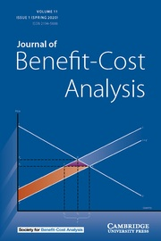 Journal of Benefit-Cost Analysis Volume 11 - Issue 1 -