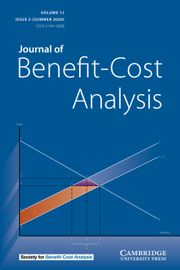 Journal of Benefit-Cost Analysis Volume 11 - Issue 2 -