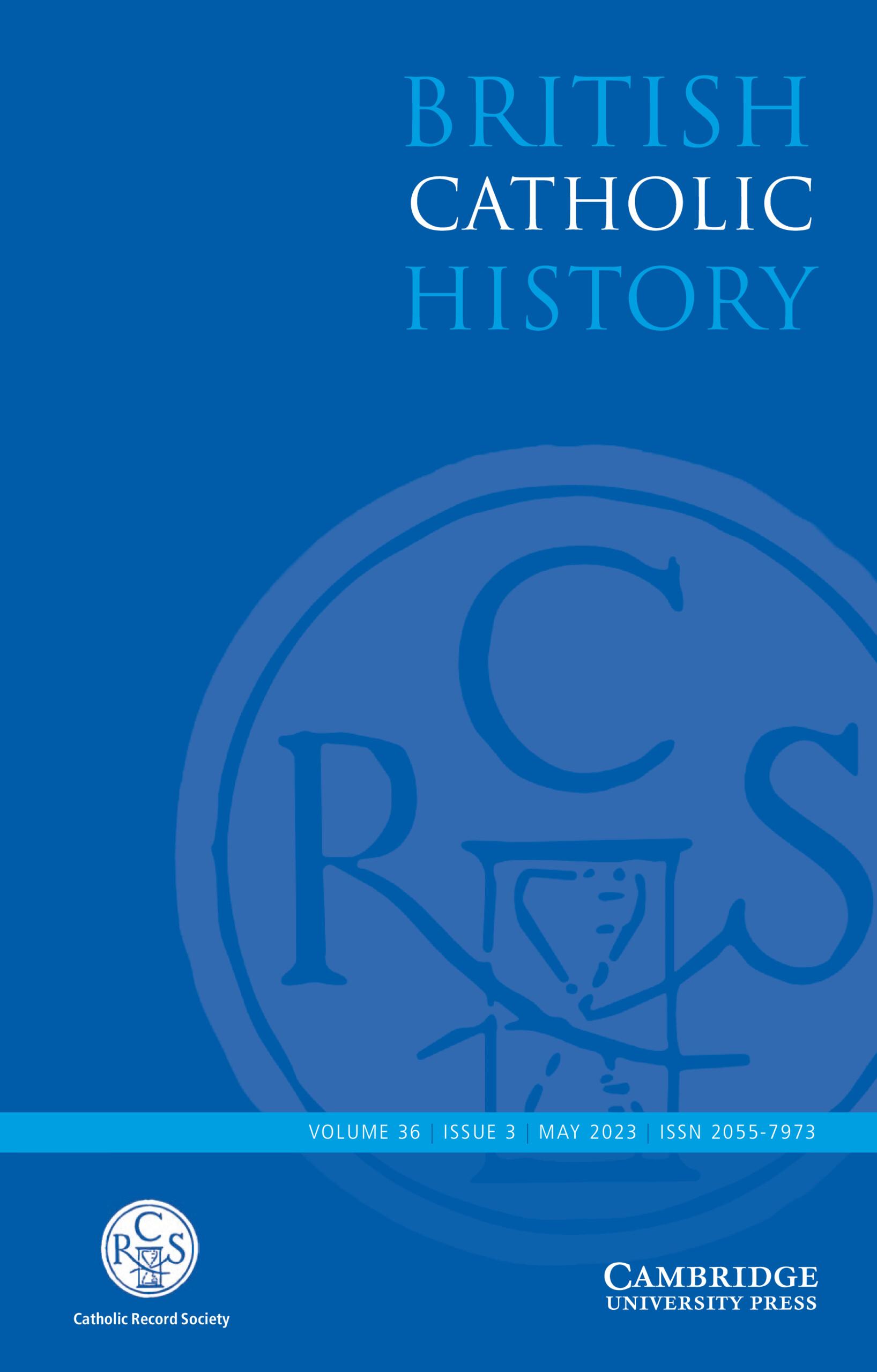 British Catholic History - cover