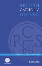 British Catholic History Volume 33 - Issue 1 -