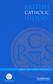 British Catholic History Volume 33 - Issue 3 -