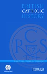 British Catholic History Volume 33 - Issue 4 -