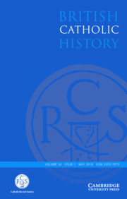 British Catholic History Volume 34 - Issue 1 -