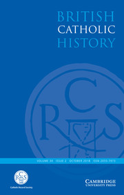 British Catholic History Volume 34 - Issue 2 -