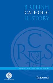 British Catholic History Volume 34 - Issue 3 -