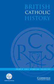 British Catholic History Volume 35 - Issue 2 -