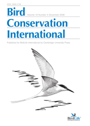 Bird Conservation International Volume 18 - Issue 4 -