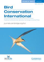 Bird Conservation International Volume 20 - Issue 2 -