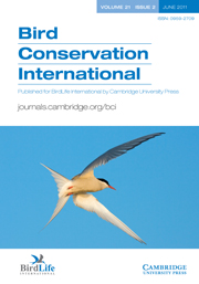 Bird Conservation International Volume 21 - Issue 2 -