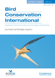 Bird Conservation International Volume 23 - Issue 2 -