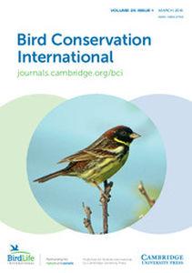 Bird Conservation International Volume 25 - Issue 1 -
