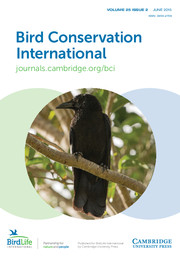 Bird Conservation International Volume 25 - Issue 2 -