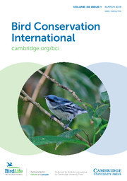 Bird Conservation International Volume 28 - Issue 1 -